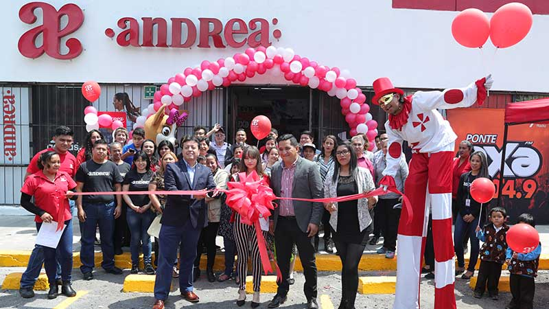 Andrea inauguró oficinas en Blvd.Coacalco casi esquina con Av. Lopez Portillo Col. Villa de las flores Coacalco Estado De México