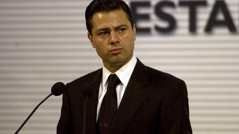 Enrique Peña Nieto reapareció en redes sociales.