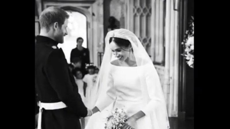 Las fotos nunca antes vistas de la boda del Príncipe Harry y Meghan Markle
