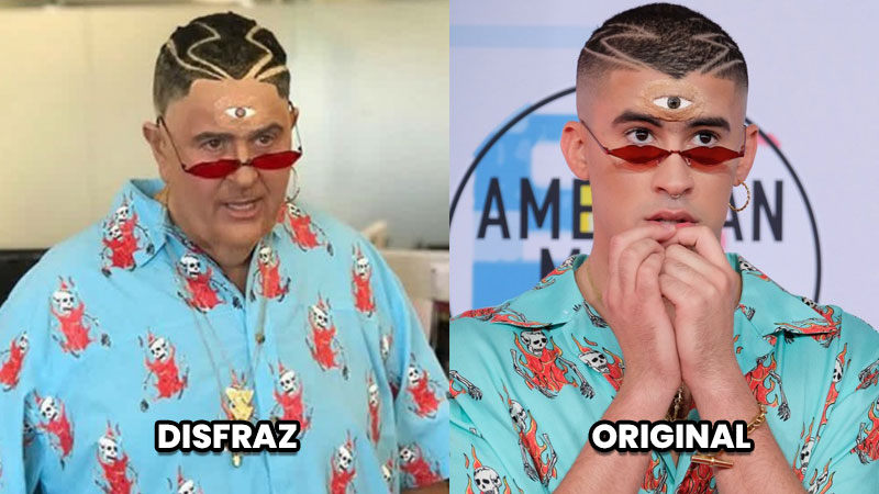Famosos se disfrazan de otros famosos, ¿quién luce mejor?