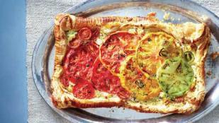 Pizza con jitomates