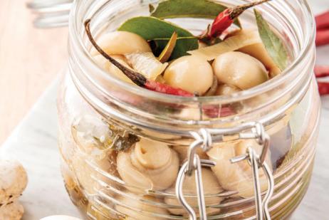 Los champiñones son una fuente única de antioxidantes