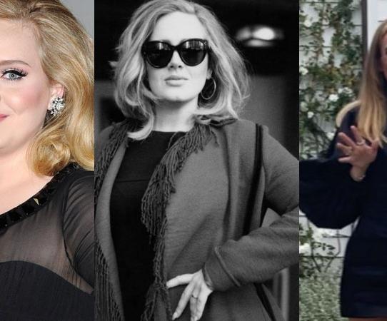 El impactante cambio de Adele
