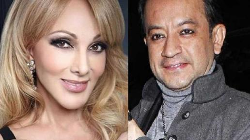 Olivia Collins se niega a besar a Germán Ortega