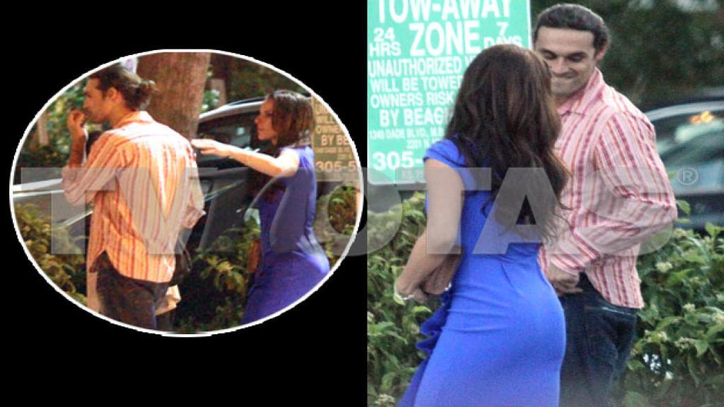 Así vimos a Kate e Iván en Miami.