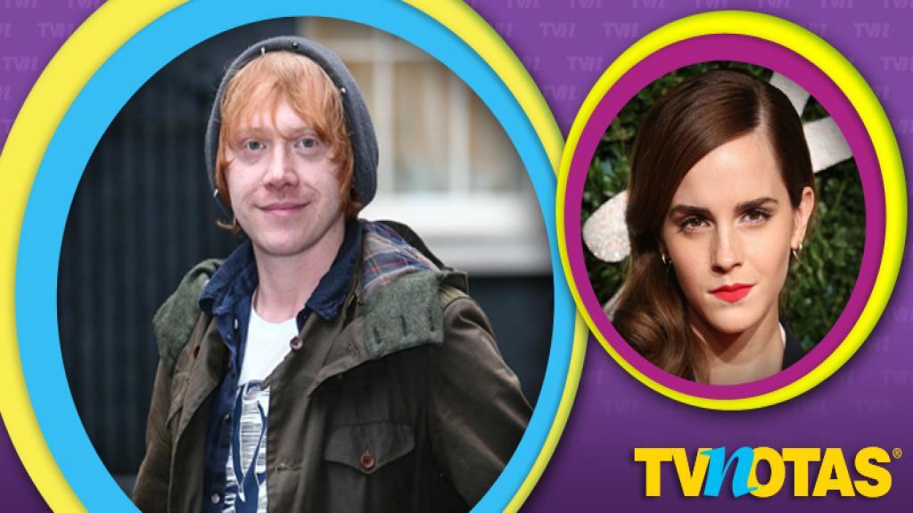 Rupert Grint confiesa que no le gustó haber besado a Emma Watson en Harry Potter.