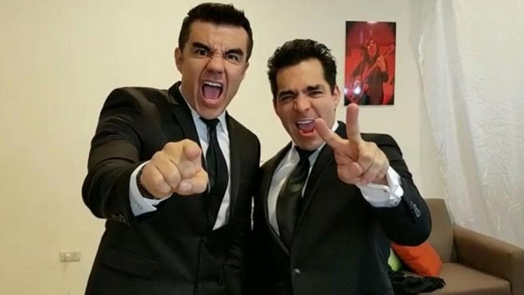 Adrian Uribe y Omar Chaparro.