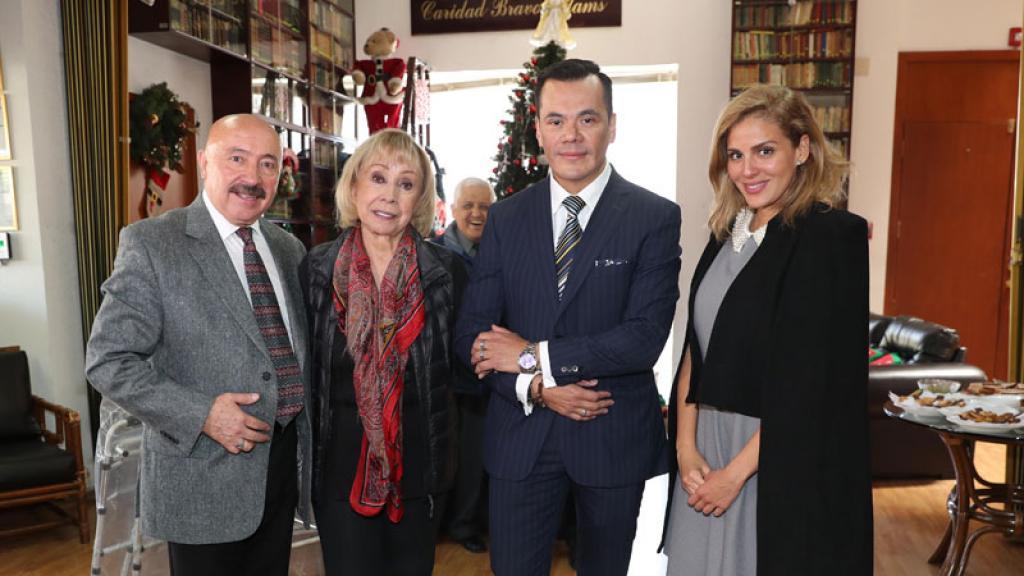 Malillany Marín hizo gran donativo a la Casa del Actor