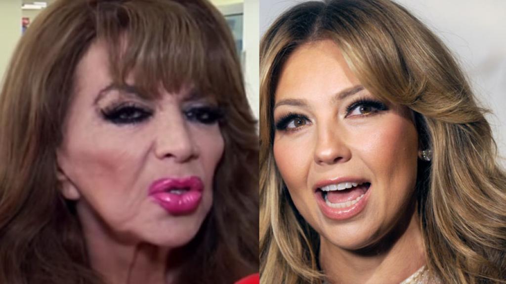 Esto opina Olga Breeskin sobre comparaciones con Thalía