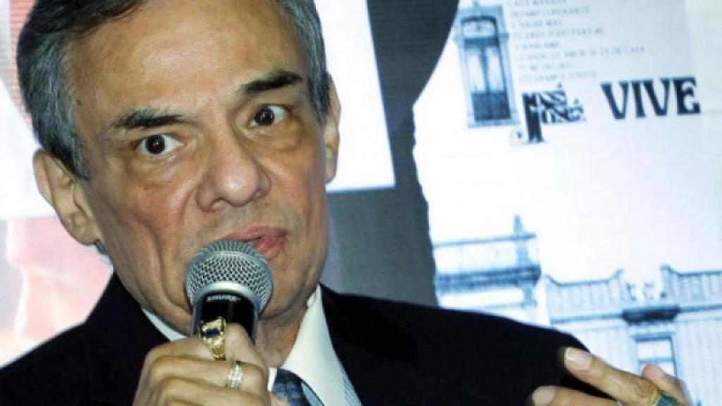 El periodista habló con José José en casa de Sarita.