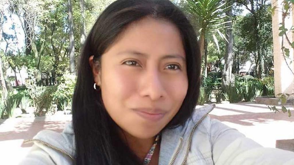 Yalitza Aparicio causó sensación en la Riviera Maya.
