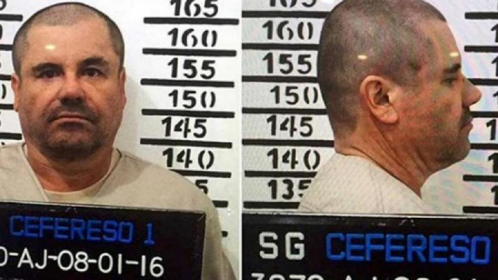 El Chapo está encerrado en NY.