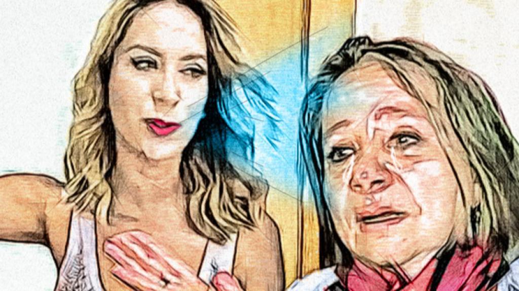 Después de que la actriz le puso un alto, ahora no saben si doña Rosalba Ortiz podrá acercarse a su hija y nietas.