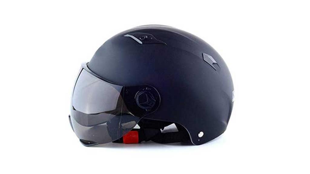 Es importante usar casco al andar en motocicleta.