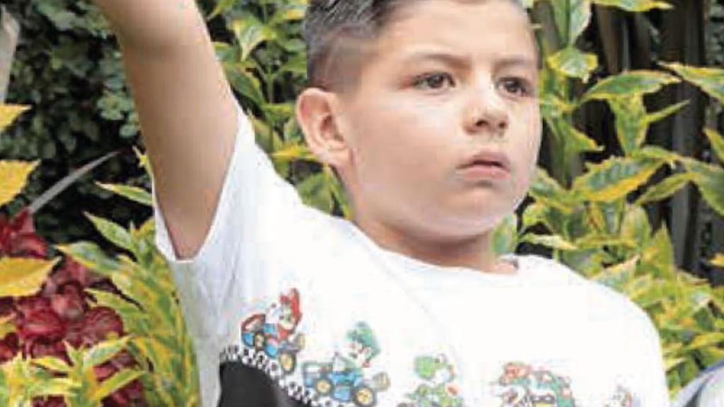 El pequeño es un sobreviviente del Colegio Rébsamen tras el 19-S y sigue luchando.