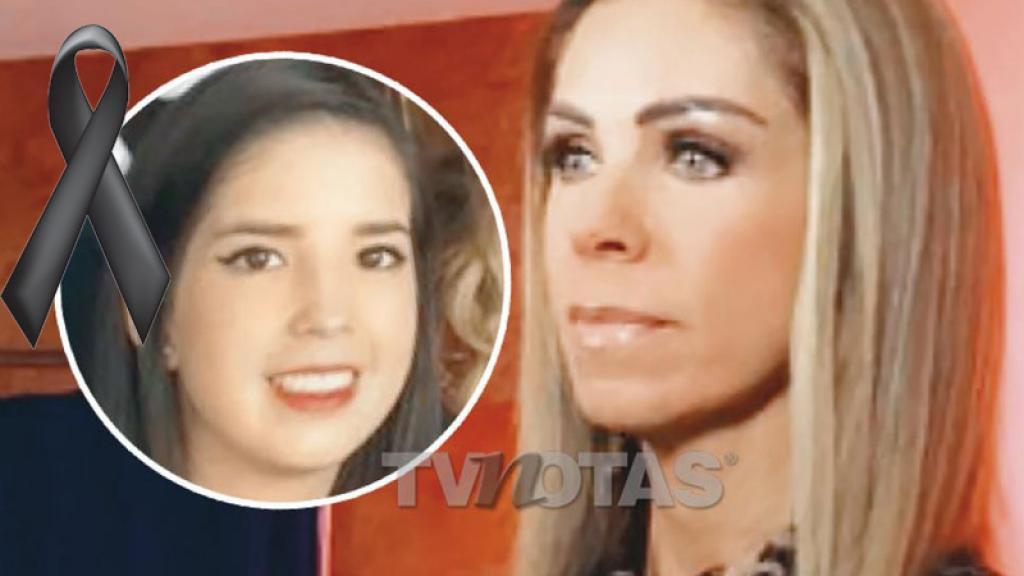 Hija de Rocío Sánchez Azuara pierde la batalla y así la despide la conductora