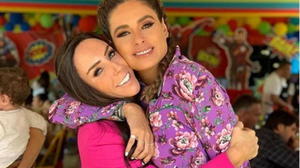 """Galilea Montijo le dice a Inés Gómez Mont que """"la ama"""" tras operación"""