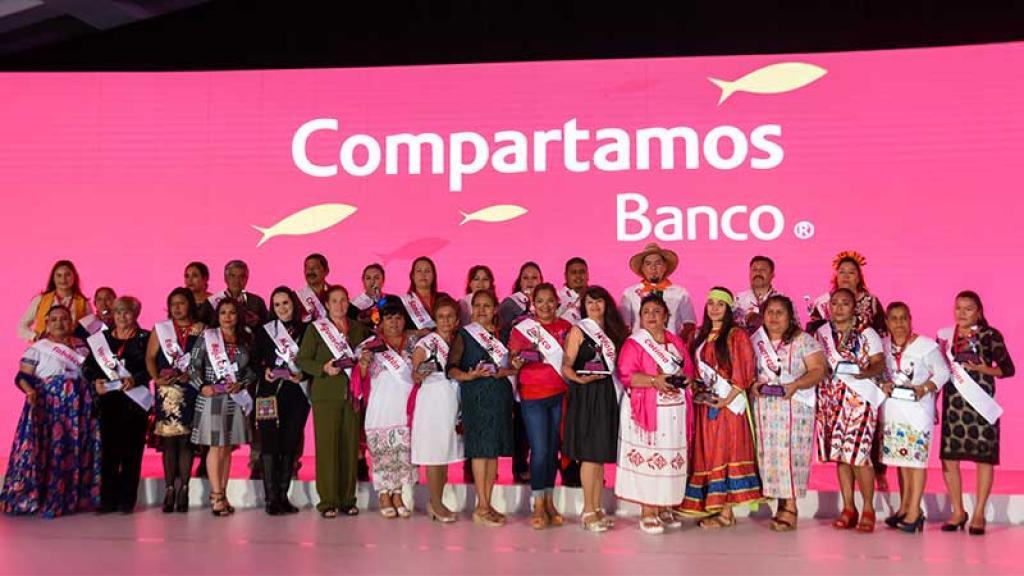 El evento de Compartamos banco que reconoce grandes historias de éxito