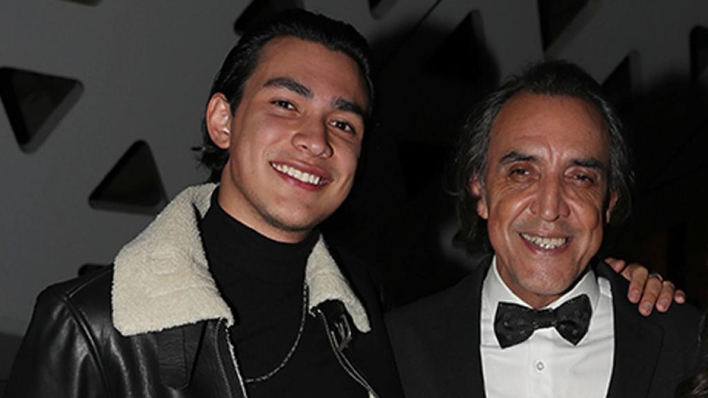 Tadeo, el hijo de Luis Felipe Tovar se dedicará a la música