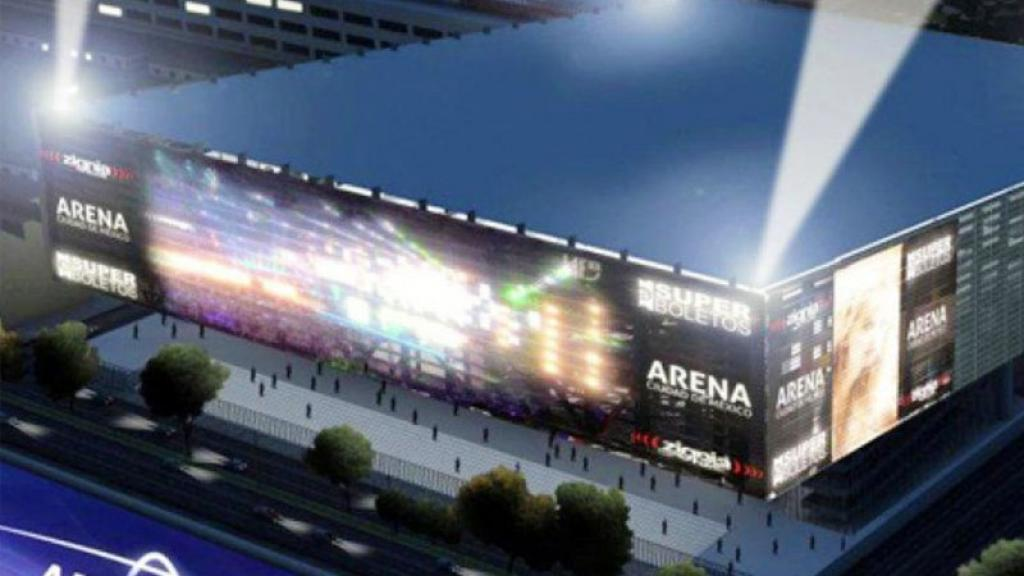 Arena Ciudad de México autocinema