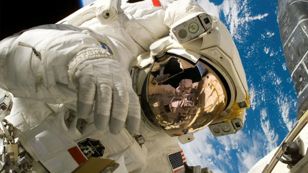astronauta estación espacial internacional
