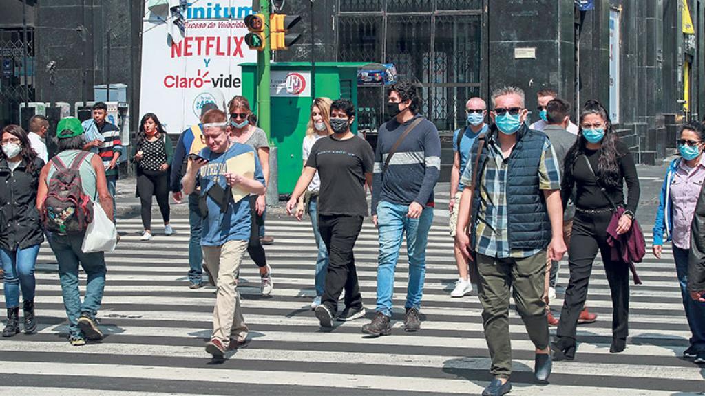 Covid-19 México CDMX Pandemia Medidas de salud y seguridad Contagios Semáforo Epidemiológico Naranja