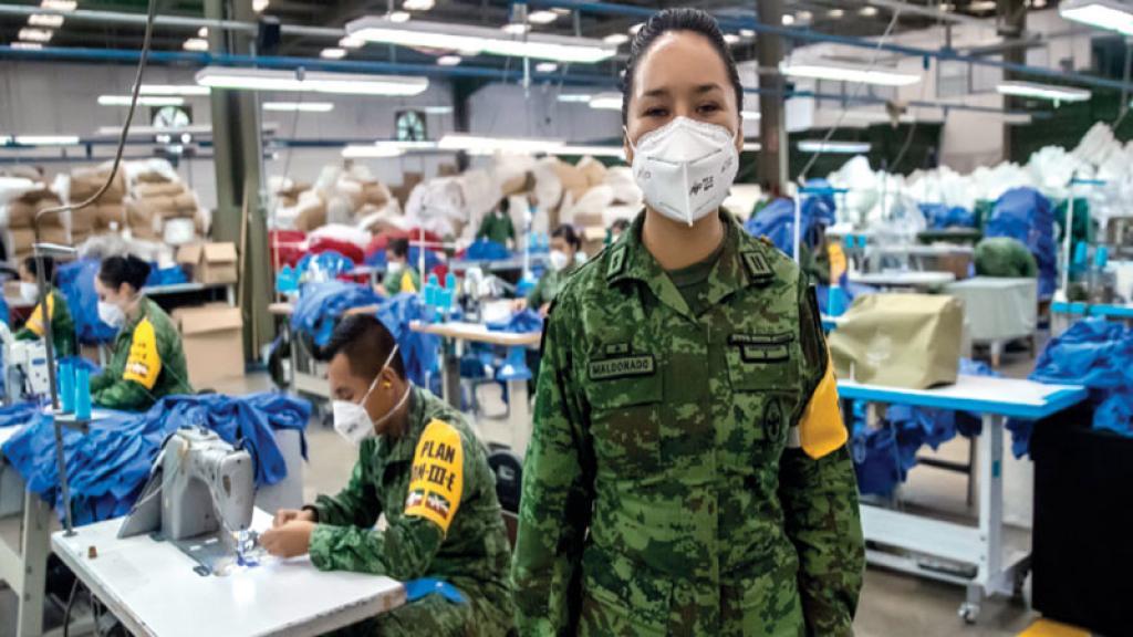 Militares SEDENA apoyo hospitales Covid México Pandemia Cubrebocas Trajes Quirúrgicos Ayuda humanitaria