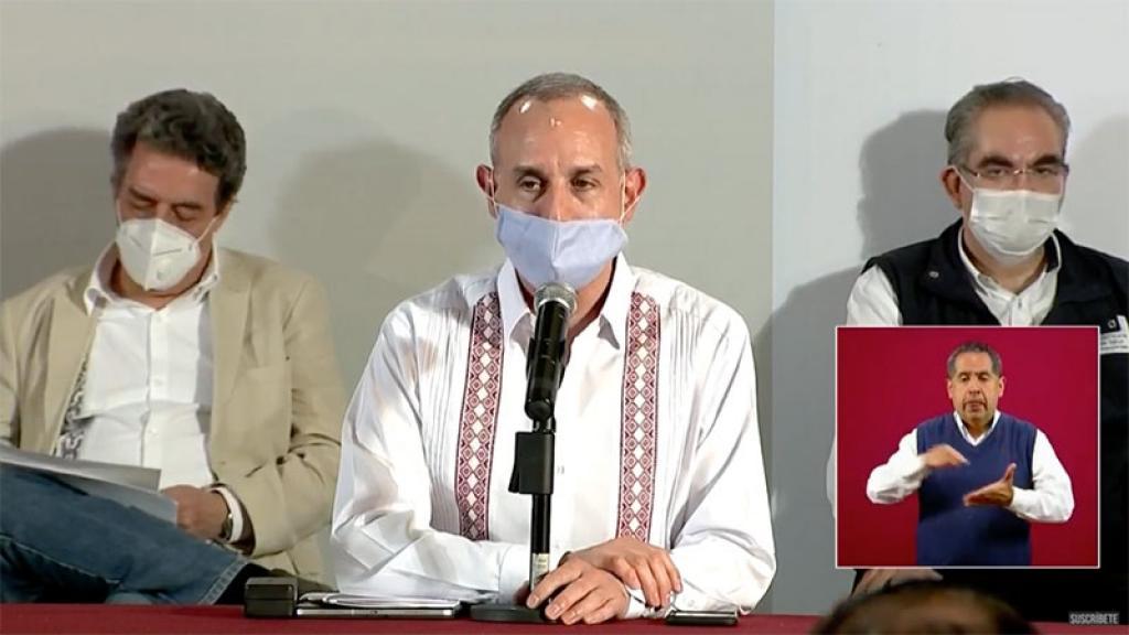 Conferencia Covid-19 México Datos Hugo López Gatell Puebla Informe Diario 31 julio 2020 Semáforo epidemiológico