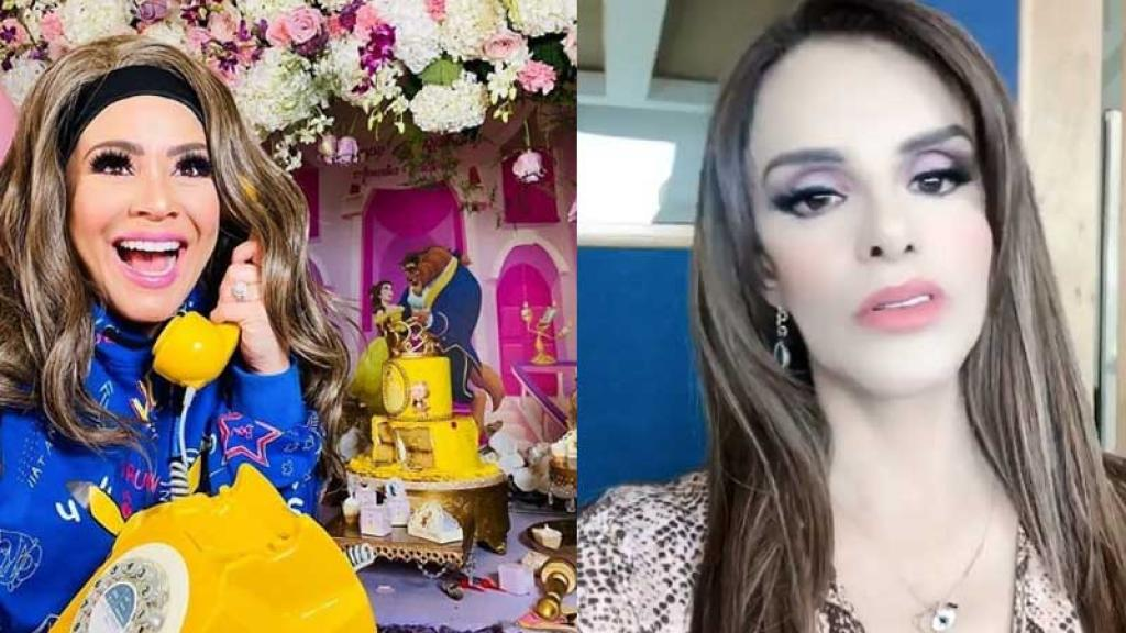 Lucía Méndez Carolina Sandoval