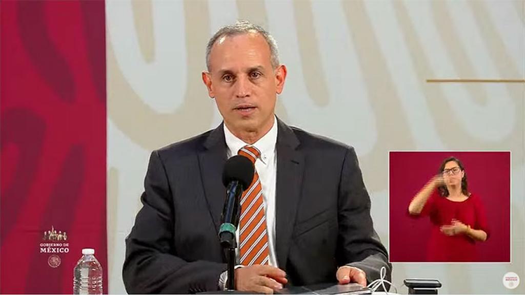 Conferencia Covid-19 México Datos Hugo López Gatell México Informe Diario 3 agosto 2020