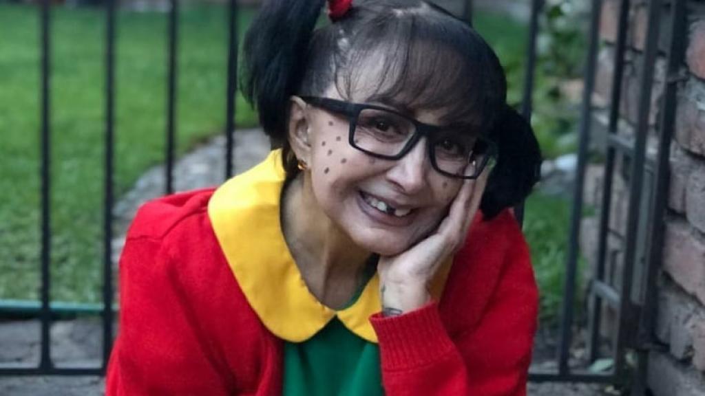 La Chilindrina reacciona por la salida de los programas de Chespirito de la TV
