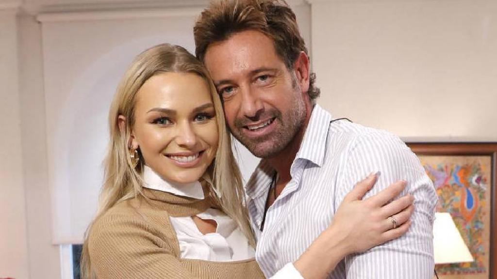 Gabriel e Irina compromiso