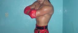 El luchador 'Estrella Dorada'.
