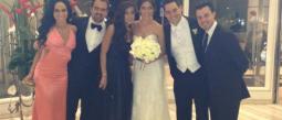 Melissa López y Manolo Núñez se casaron este fin de semana.