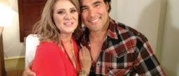 Erika Buenfil y Eduardo Yáñez tienen una bonita amistad.
