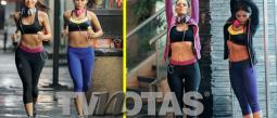 Vanessa Arias y Melina Robert no pierden el estilo ni para hacer ejercicio.