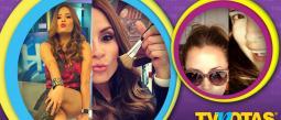 Linet Puente se apoya en el maquillaje para verse bien en televisión.