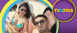 El Capi Pérez y su novia, Itzel, celebraron su amor en Cancún.