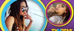 Danna Paola recibió duras críticas por selfie con bikini decente.