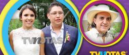 Luis Felipe Tovarfue el más feliz en la boda de su hija María Fernanda.