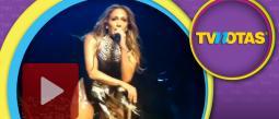 Jennifer Lopez dio un show inolvidable.