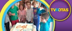 Hijo de Carlos Bonavides ya se graduó del CEA Infantil.