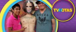 Crean piñata de El Potrillo en su desenfrenada noche en Las Vegas.