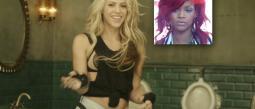 Shakira y Rihanna.