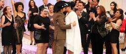 El programa 'Enamorándonos' celebró la primer boda