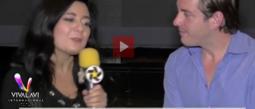 Juan Diego Covarrubias se enoja y deja plantada en entrevista a Magüicha.