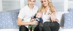 Junto a su novio Federico Burbik, están locos por su bebé.