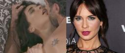 Adriana Louvier da la cara ante críticas por erótico personaje en Caer en tentación