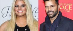 Jessica Simpson sorprende con su parecido a Ricky Martin