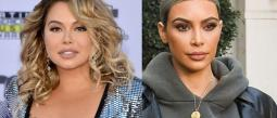 La Chiquis le vuelve a copiar a Kim Kardashian
